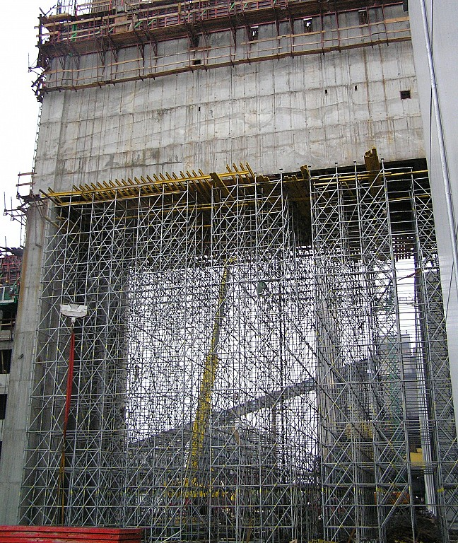 shoring towers